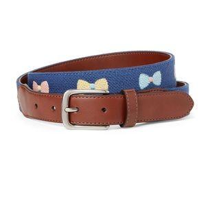NWT Tommy Bahama Bow Tie belt XL
